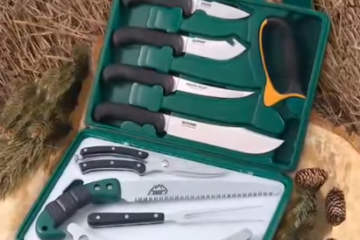 best deer skinning knife set